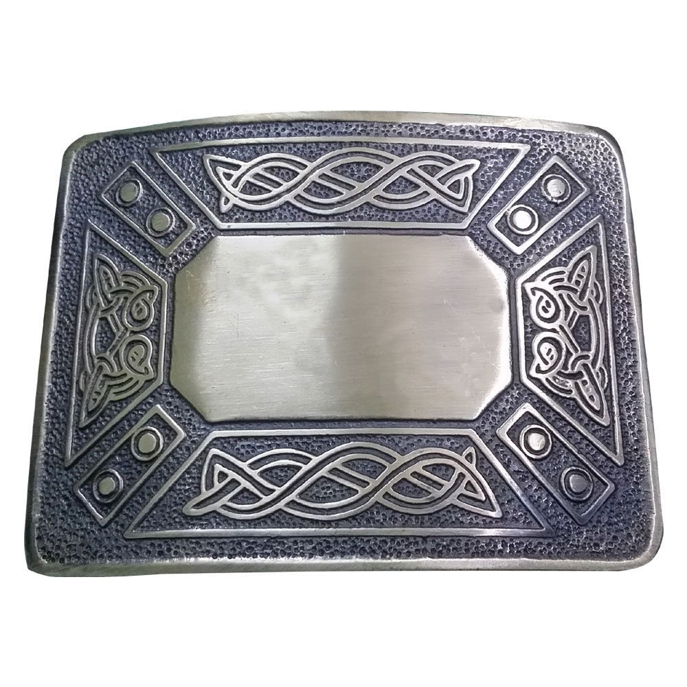 Scottish Highland Celtic Design Kilt Belt Buckle High Quality Antique Finish