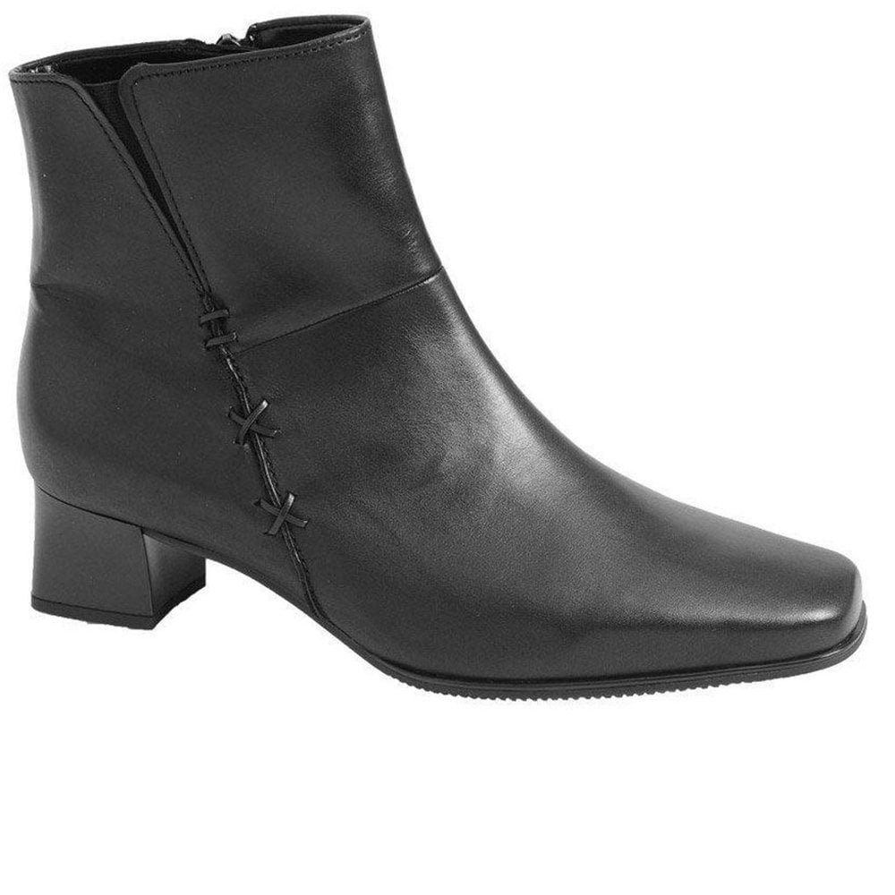 12 USA Size TAICHI LEATHER LADIES ANKLE BOOTS For Fashanable Ladies