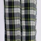 Scottish Kilt Fly Plaids In Dress Gordon Tartan Piper Fly Plaid 3 /1/2 Yards