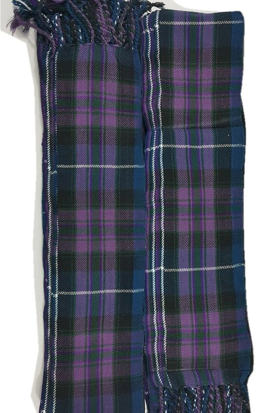 Scottish Kilt Fly Plaids In Pride of Scotland Piper Fly Plaid 3 /1/2 Yards