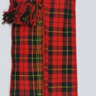 Scottish Kilt Fly Plaids In Wallace Tartan Piper Fly Plaid 3 /1/2 Yards