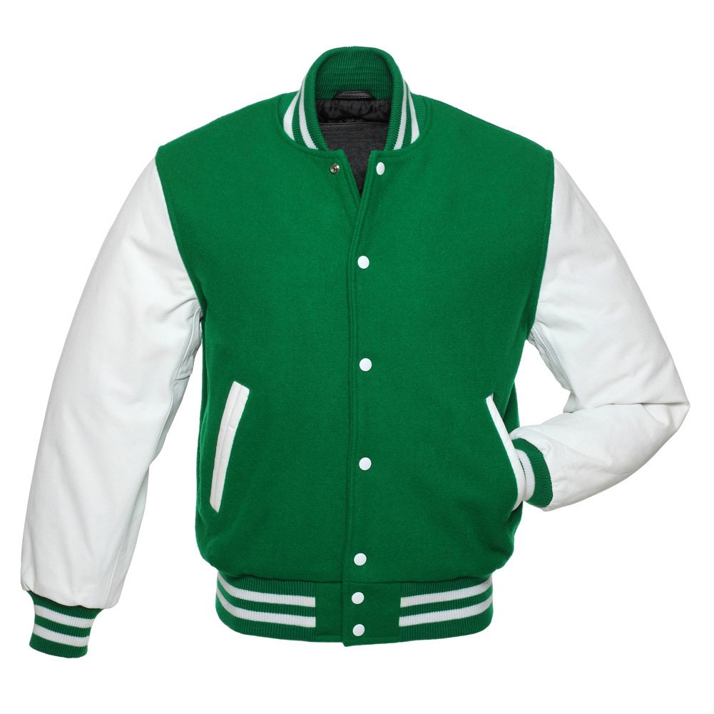 NEW MENS WOMENS KIDS VARSITY COLLEGE AMERICAN FOOTBALL LETTERMAN COAT JACKET