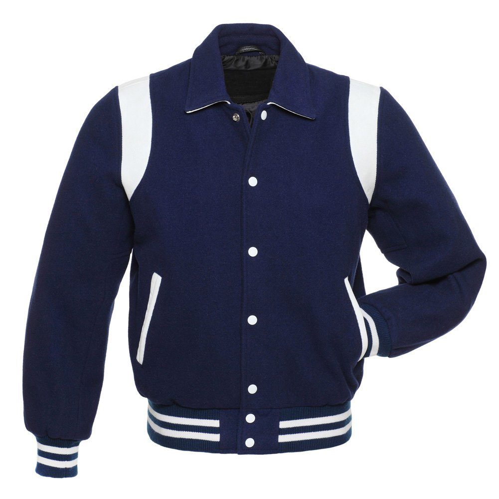 American Style Unisex Varsity Letterman University College Baseball Jacket Coat