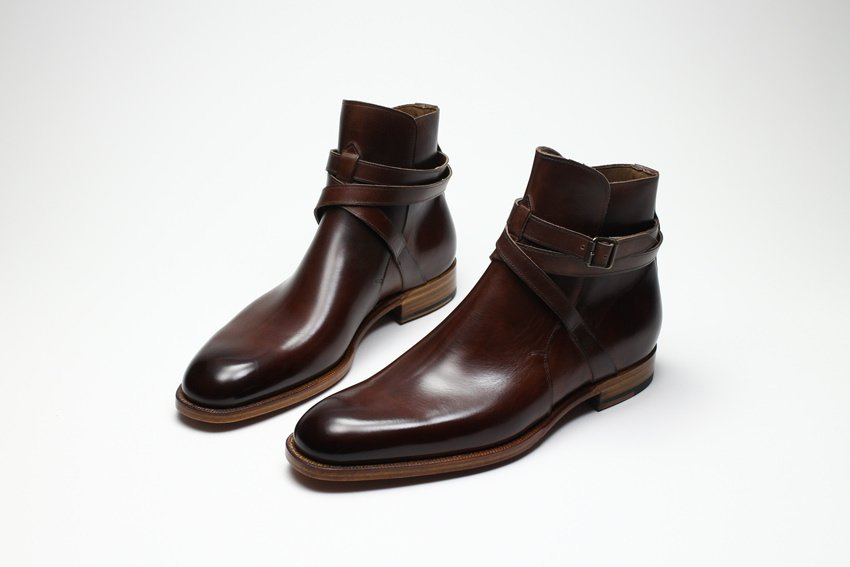 New York Brown Boot Suede leather Men's Ankle Boots Custom Sizes