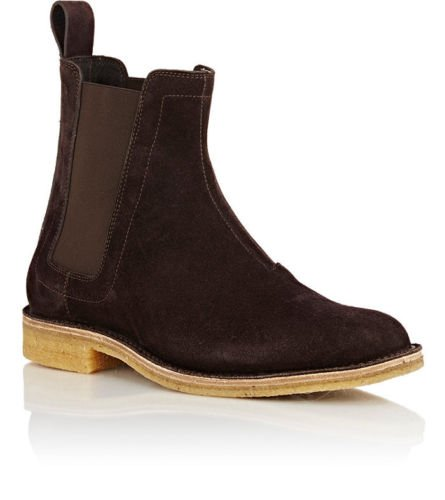 Mens Fashion Brown Chelsea boots, Men suede leather ankle boot, Men boots