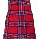 Royal Stewart Tartan kilt-Skirt Double Buckle