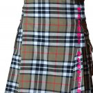 32 Waist Men's Modern Pocket Campbell Thompson Tartan Kilts Scottish Highlander