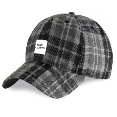 Grey Watch Tartan Baseball Golf Cap