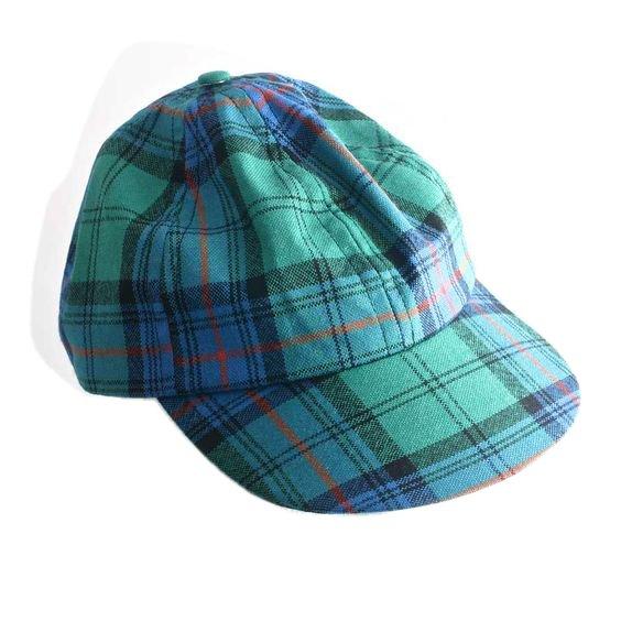 Irish National Tartan Baseball Golf Cap