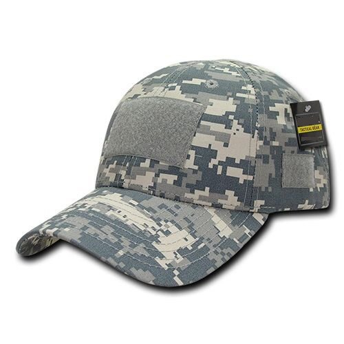 Digital ACU Camo Tactical Ripstop Army Operator Contractor Low Crown Cap Hat