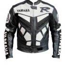 Yamaha Black Motorbike Motorcycle Leather Racing Jacket