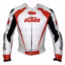 Racing Motorcycle Leather Jacket Safety Pads For KTM Alpinstar