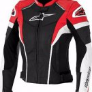 Men's Super Speed Motorcycle Racing Biker Leather Jacket