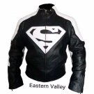 Super Man Speed Motorcycle Racing Biker Leather Jacket XS-6XL Size Available