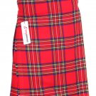 36 Size Scottish Royal Stewart Traditional Tartan Kilt 5 Yard Tartan kilt Wedding Kilts