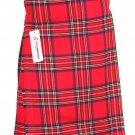 42 Size Scottish Royal Stewart Traditional Tartan Kilt 5 Yard Tartan kilt Wedding Kilts