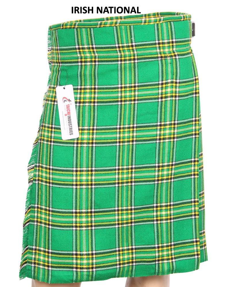 36 Size Irish Traditional Tartan Kilts 5 Yard Tartan kilts Wedding Kilts Casual Kilts