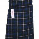 44 Size Blue Douglas Tartan Kilts 5 Yard Tartan kilts Casual Kilts Irish Kilts