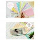 100PCS Pastel Color Instant Films Sticker For FujiFilm Instax Mini 8 7s 25 50s
