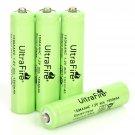 4PCS 1500mAh 1.2V Power Lasting Ultra Fire Rechargeable  NiMH AAA Battery Green