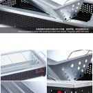 """29"""" Picnic Camping Smoker Charcoal BBQ Barbecue Grill Travel Outdoor Garden"""