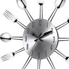 Unbelievable! High Quality 3D Wall Clock Stainless Steel Kitchen Wall Watch Q...