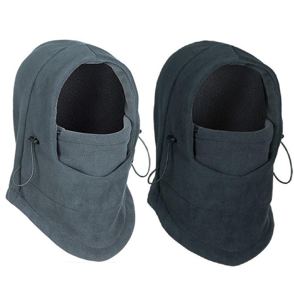 winter warm Fleece beanies hats for men skull bandana neck warmer balaclava s...