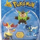 Pokmon - Action Pose Figures Set Assorted (3-Pack) - Multi
