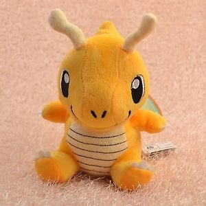 Pokemon Plush Toy Dragonite 16cm Cute Collectible Soft Stuffed Animal Doll
