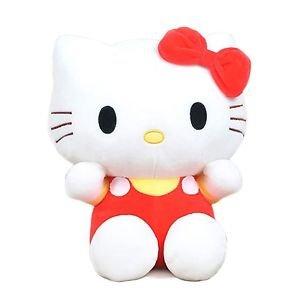 20cm Kawai hello kitty plush toys High-quality Stuffed dolls for girls kids t...