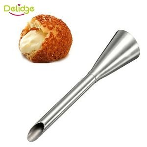 Delidge Stainless Steel Icing Piping Nozzle Cream Beak Pastry Puff Cream Inje...