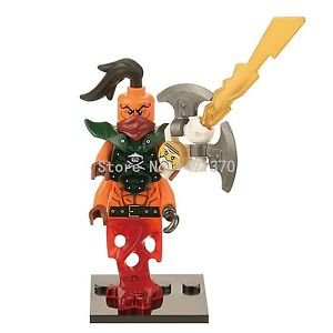 XINH 243 Nada Khan Ninja Minifigures Lloyd Educational Juguetes Building Bloc...