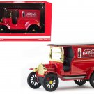 "1917 Ford Model T Cargo Van ""coca-cola"" Red 1/24 By Motorcity Classics"