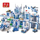 Police Station Helicopter BanBao 8353 Building Blocks
