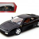 Ferrari 348 TB Black 1/18 Diecast Car Model by Hotwheels