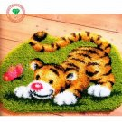 Cartoon Tiger Latch Hook Rug Kit