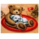 Cartoon Bear Rug Hooking Kit