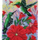 Hummingbirds Rug Latch Hooking (58x85cm)