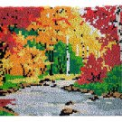 Autumn Rug Latch Hooking Kit (58x87cm)