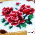 Roses Rug Latch Hooking Kit
