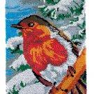 Winter Bird Rug Latch Hooking Kit (58x87cm)