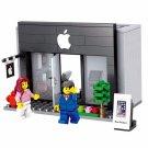 City Mini Street Apple Store 3D Model Building Blocks (no box)