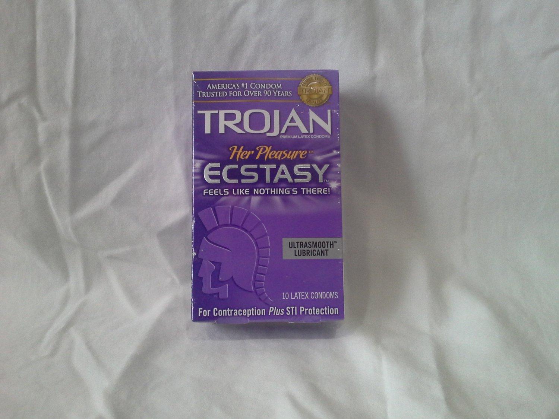 Trojan Ecstasy Condoms 10 pack