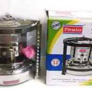 STAINLESS STEEL 12 WICKS PORTABLE WICK STOVE OUTDOOR CAMPING KEROSENE HEATER