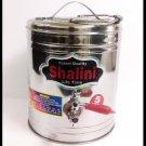 STEEL INSULATED HOT COLD BEVERAGES DISPENSER JAR TEA COFFEE SERVING KETTLE 5 LTR