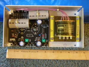Power Supply, regulated, 15 volt, 3 amp