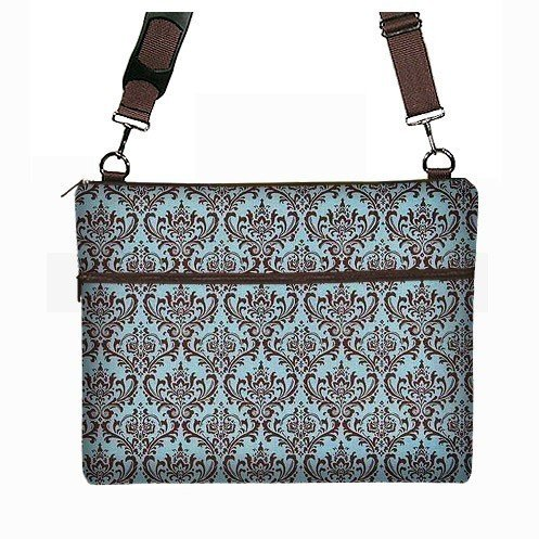 15 inch PC Laptop Sleeve Bag Case Messenger Janine King ecb6