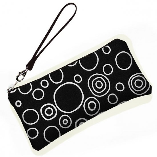 Large Wristlet purse clutch bag padded protects gadgets ecc3