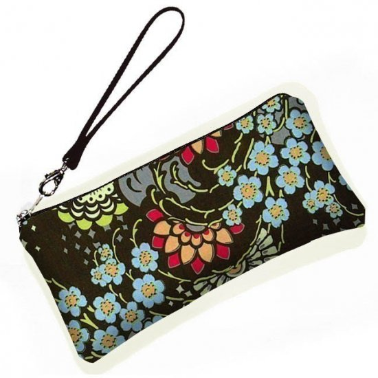 Large Wristlet purse clutch bag padded protects gadgets eca6