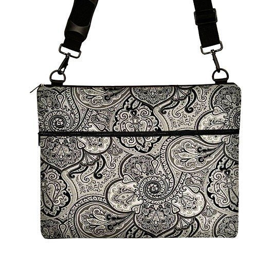 15 inch PC Laptop Sleeve Bag Case Messenger Janine King ecb7